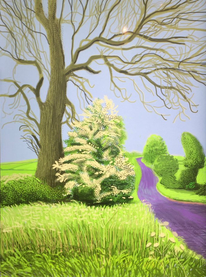 Be inspired by artist David Hockney with this weekend style challenge