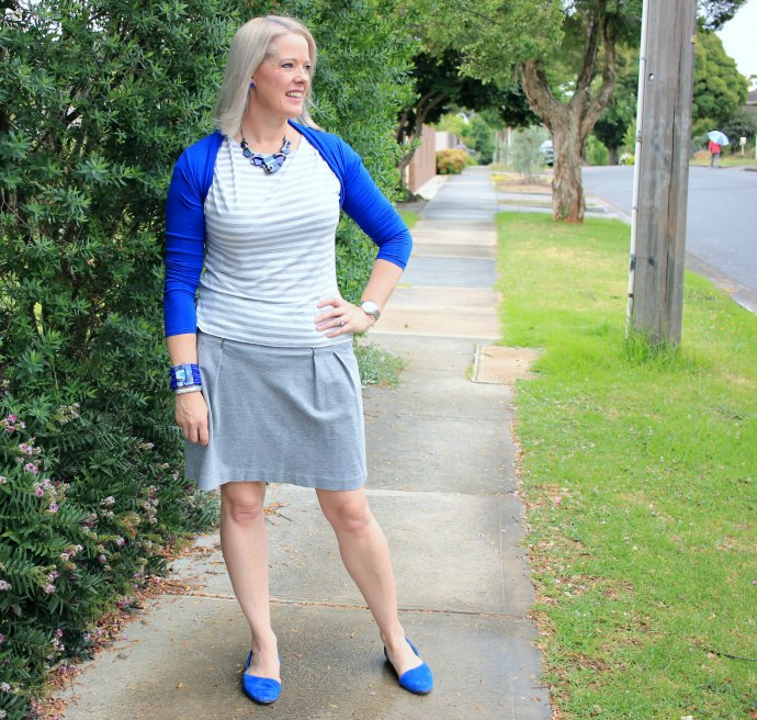 Summer Style inspiration - blue, white and grey