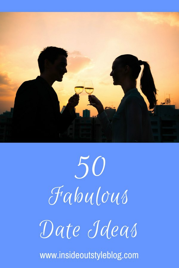 50 Fabulous date ideas - what to do on your next date? From fun and active, to intellectual and stimulating