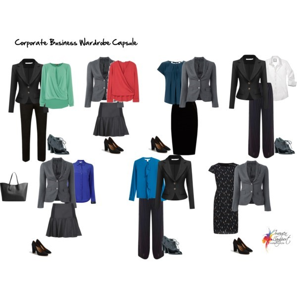 How to create a corporate wardrobe on a budget using a capsule