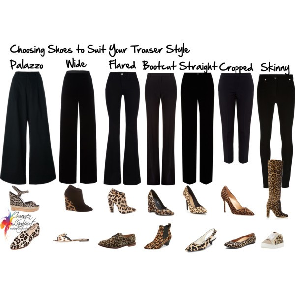 Guide to choosing shoe styles to go with your pants
