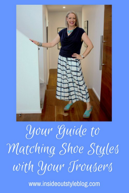 Your guide to matching shoe styles with your trouser style and shape