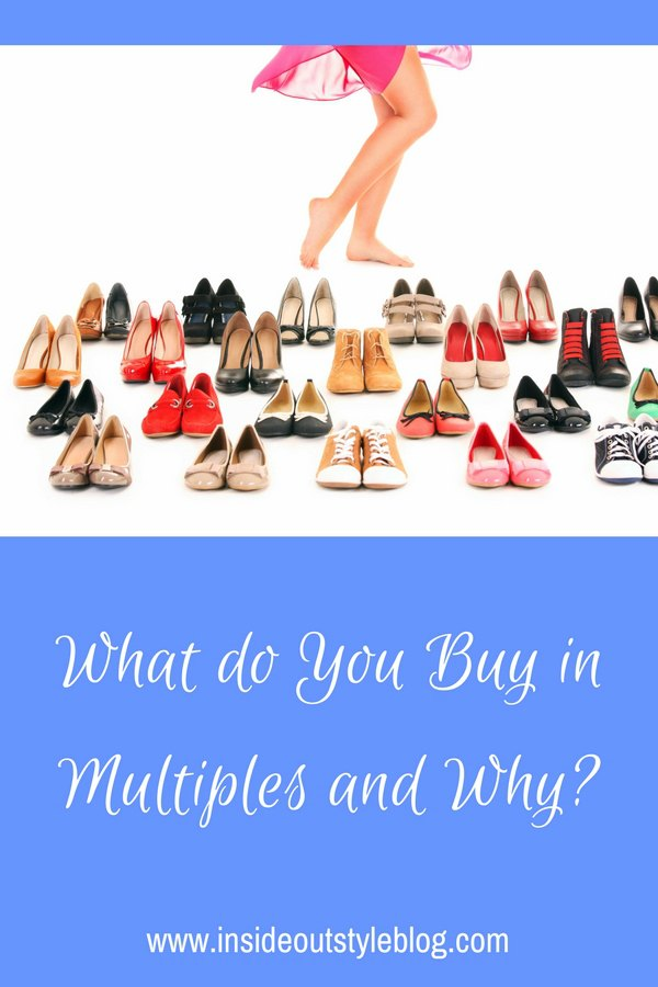 What do you buy in multiples and why? Discover how to have a better shopping experience and what the pitfalls of shopping can be