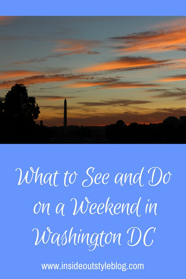 What to see and do in Washington DC