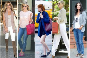 Colour and value contrast - how to wear them - real life examples - www.insideoutstyleblog.com