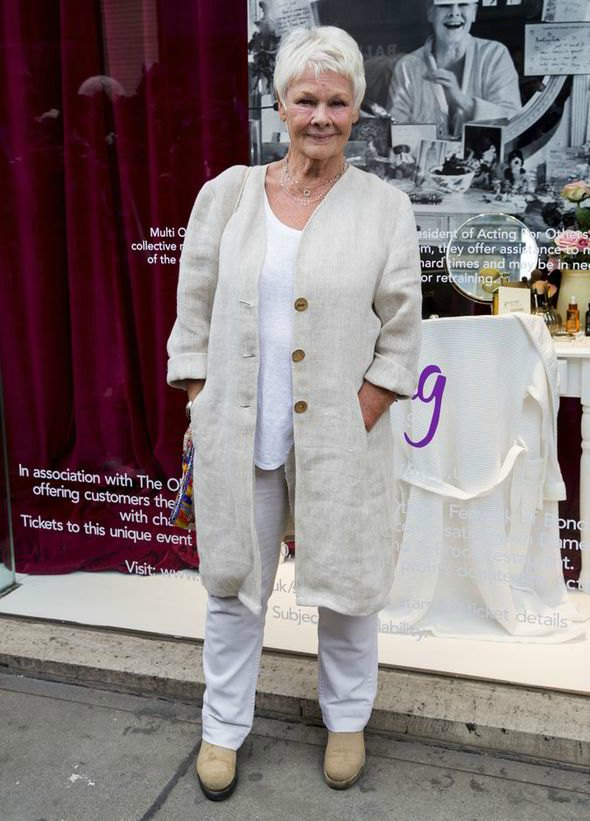 Street style - outfit inspiration - Judi Dench