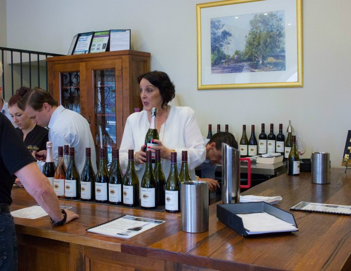 Lunch at Tokar Estate Winery in the Yarra Valley