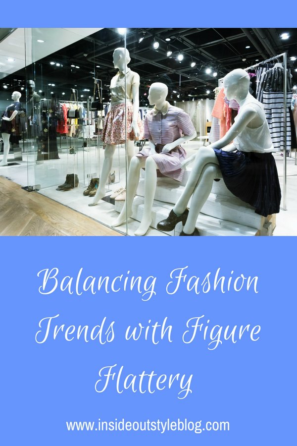 How to balance fashion trends with figure flattery