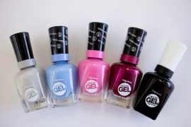 Miracle Gel nail polish by Sally Hansen - road test and review