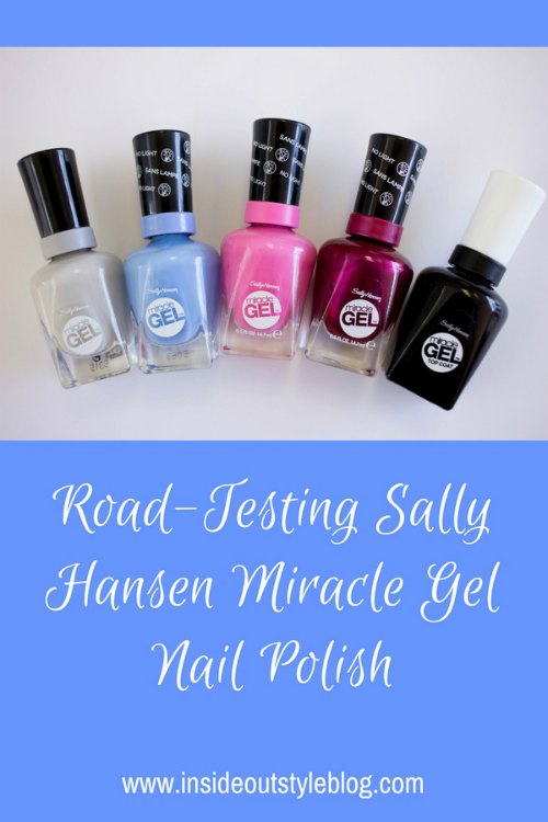 Road Test and Review of Sally Hansen Miracle Gel nail polish