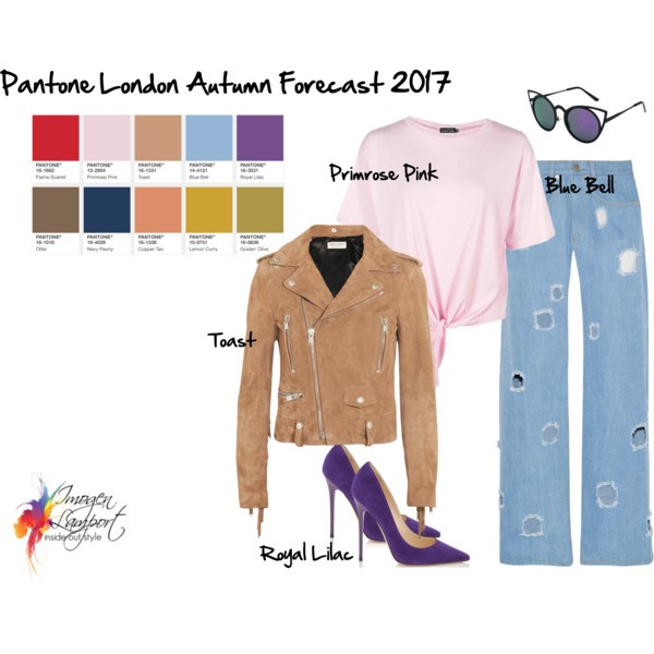 creating outfits with pantone autumn winter 2017 colour trends
