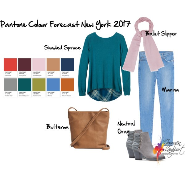 Pantone Fall 2017 New York fashion colours