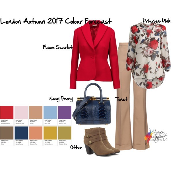 London Pantone Colour Forecast 2017 Autumn - how to put the colours together