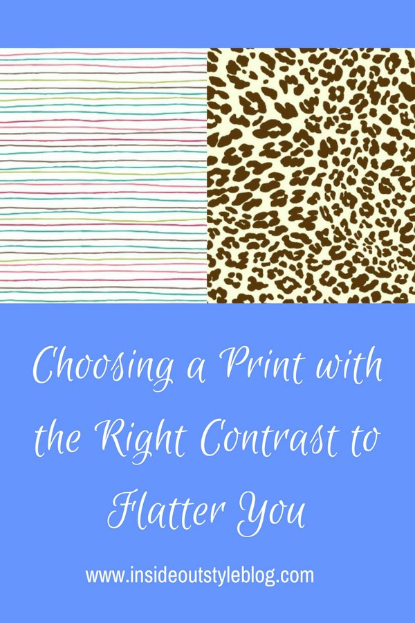 choosing a print with the right contrast to flatter you - click here to discover how easy it is