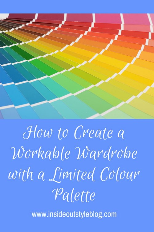How to work with a limited colour palette in your wardrobe without getting bored.