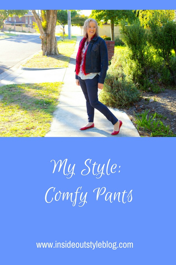 My style - comfy pants - why I love them and wear them