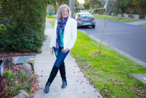 My Style- Scarves - tips for wearing scarves as part of your outfit