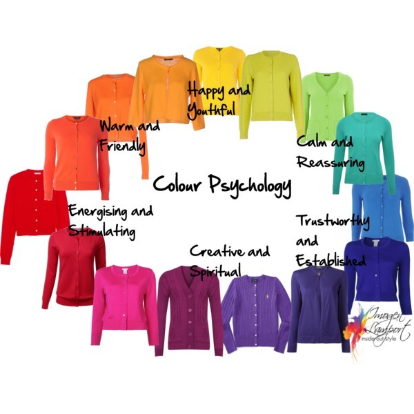 Psychology of Colour - understanding how to use colour in your wardrobe