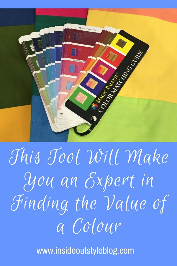 How to use this nifty tool to become an expert and choosing the value of a colour and creating the right value contrast in your outfits