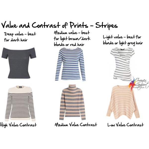 How to choose a print or pattern garment with the right value and contrast for you