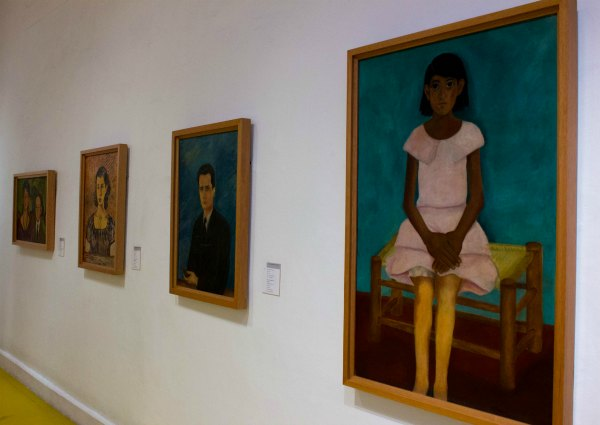 Inside the Frida Khalo Blue House Museum in Mexico
