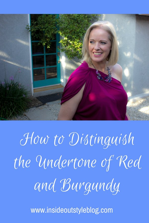 How to Distinguish the Undertone of Red and Burgundy
