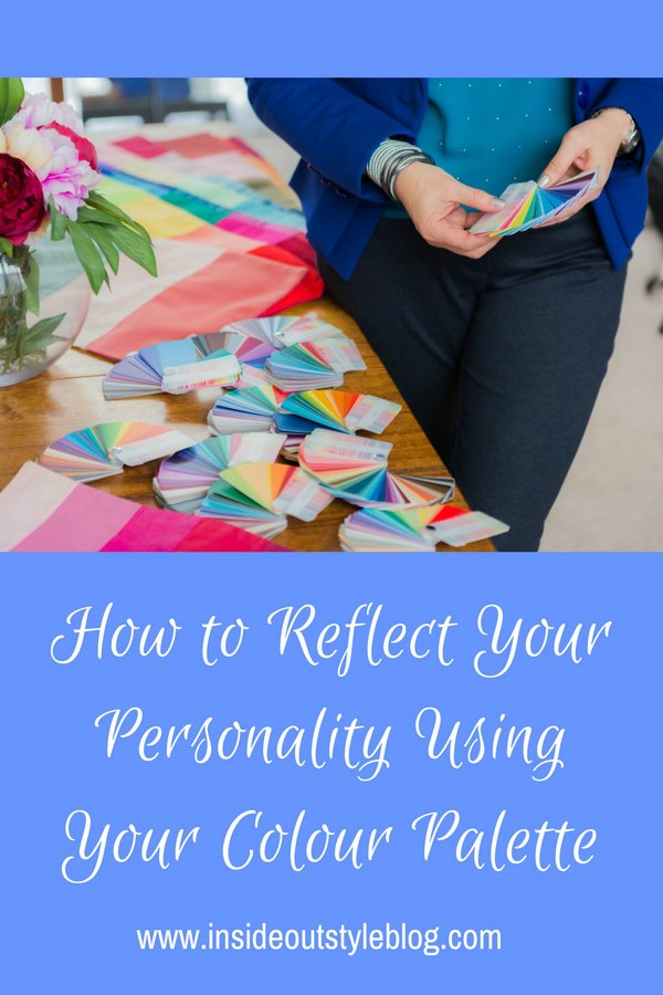 How to Reflect Your Personality Using Your Colour Palette - understanding the way personality influences the colours you choose and how to use the colours in a palette that flatter your complexion whilst still reflecting your personality