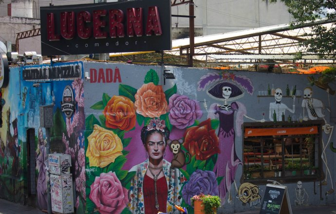 A glimpse into the streets of Mexico City