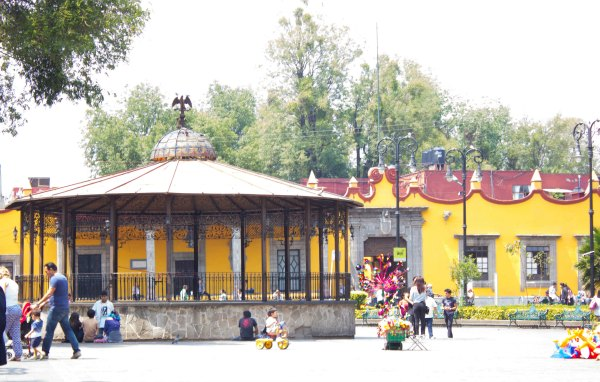 Trip to Coyoacan - Town Square