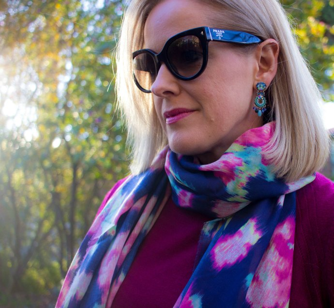 Wearing Ayalabar earrings from Origen Imports boutique in Malvern and Melbourne