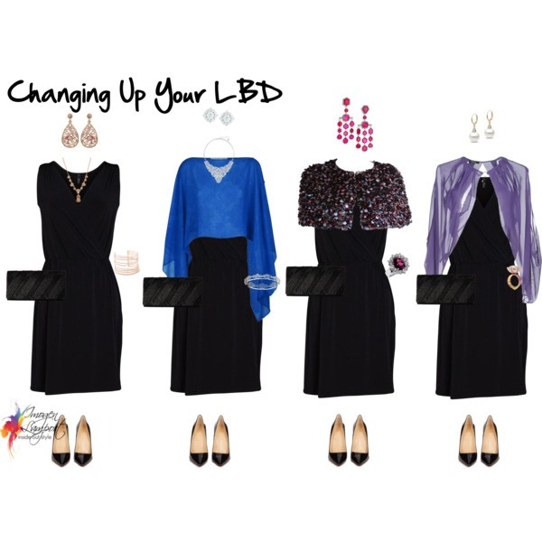How to take the same LBD and create multiple looks around it with minimal elements