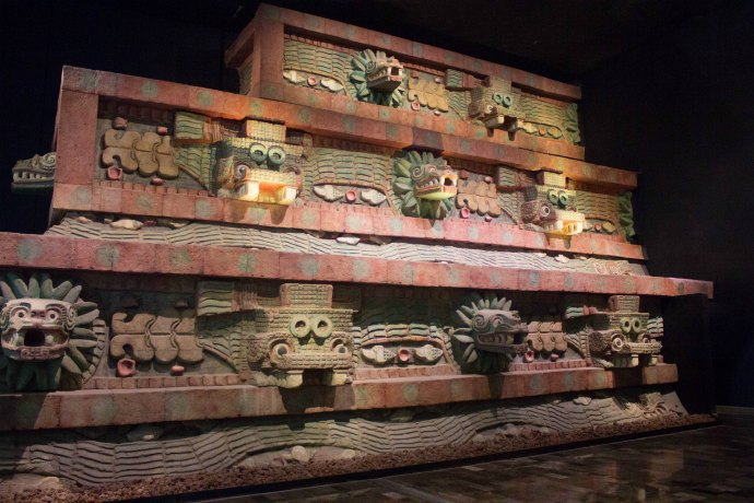 See some of the treasures inside the Museum of Anthropology in Mexico City
