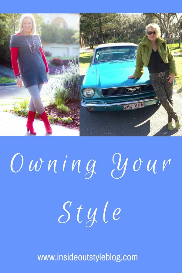 Owning your style and some of the internal processes to feeling fabulous