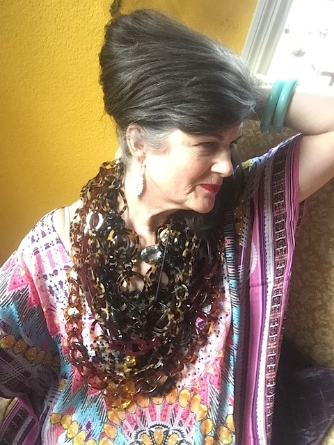 The Vintage Contessa shares her thoughts on being stylish for Inside Out Style Blog