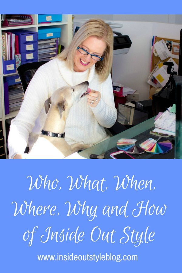 Discover the who, what, when, why and how of Inside Out Style Blog - take a peek at what it takes to write a blog