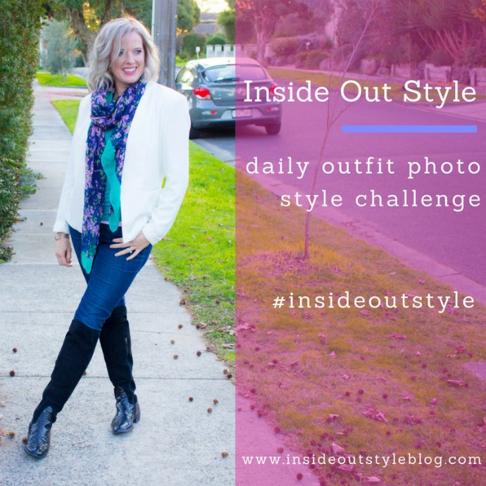 Take the Inside Out Style blog daily outfit photo style challenge and see your style improve in a matter of weeks #insideoutstyle