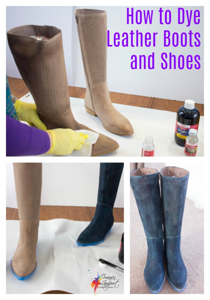 how to dye leather shoes and boots