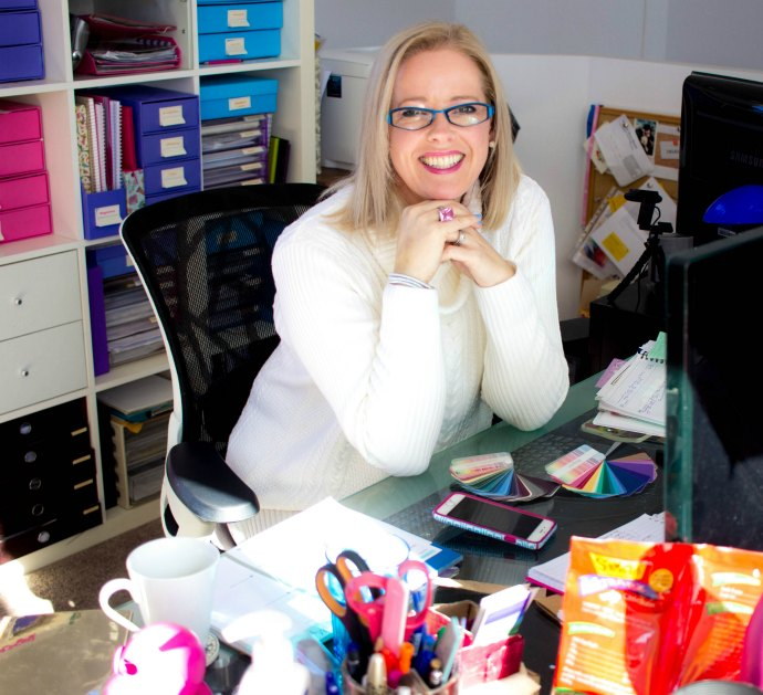 At my desk - Imogen Lamport of Inside Out Style Blog shares the inside info on being a blogger.