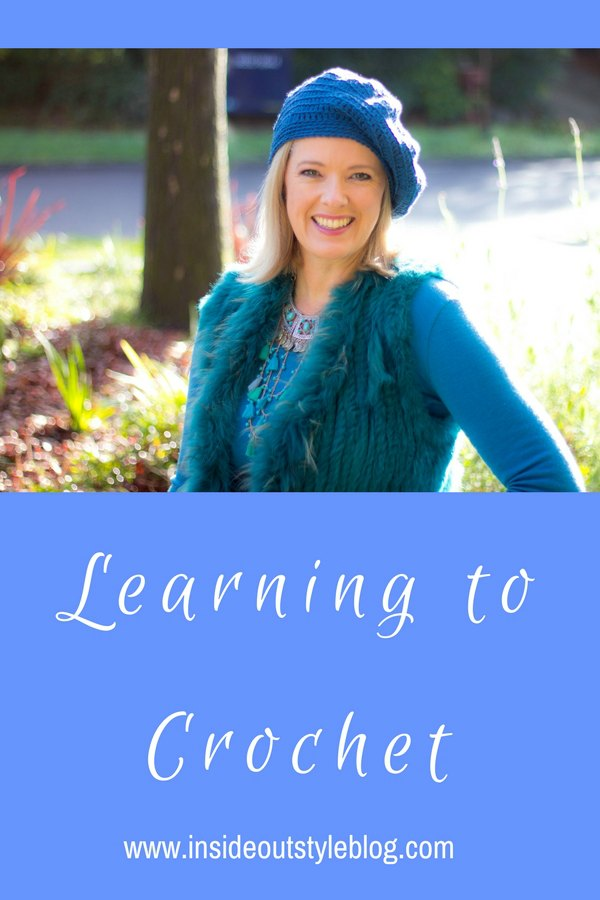 Learning to crochet with crochet coach