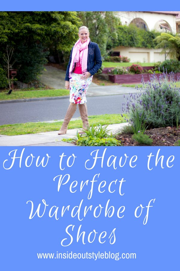 How to have the perfect shoe wardrobe -what you need to consider