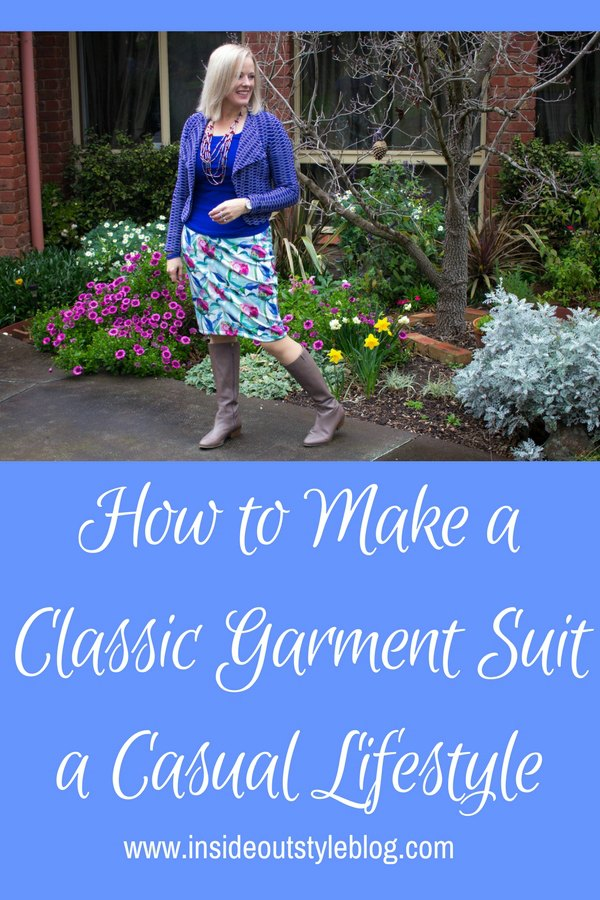 How to Make a Classic Garment Suit a Casual Lifestyle