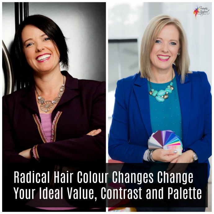 How to manage the transition from one colour palette to another