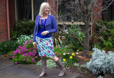 Making a classic style garment feel more relaxed and casual