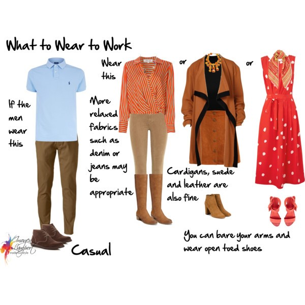 What to wear to work - casual business