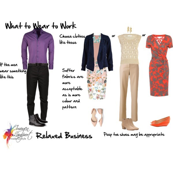 What to wear to work - relaxed business