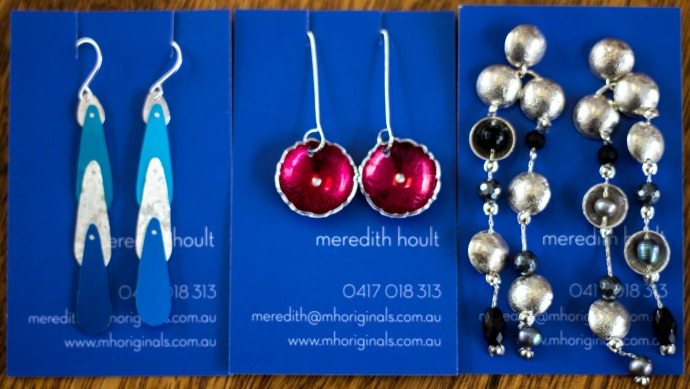 Meredith Hoult Originals - beautiful handmade sliver and aluminium jewellery - made in Melbourne