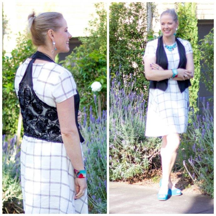 Four ways to wear a dress