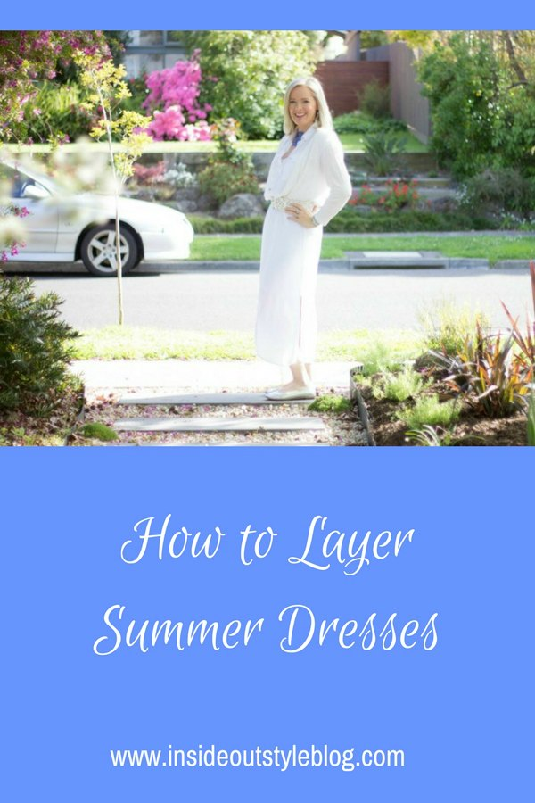 how to layer summer dresses