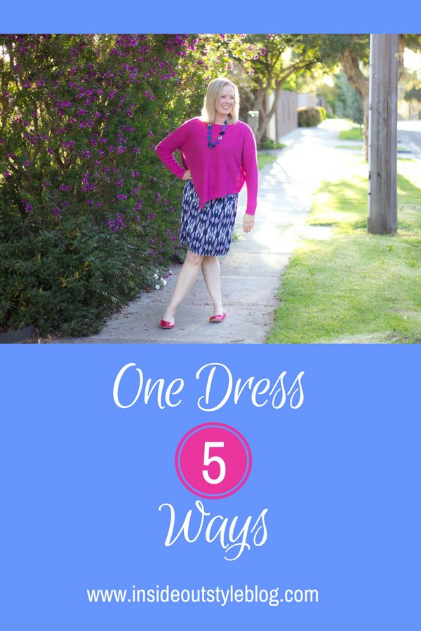 How to style one dress multiple ways for different occasions