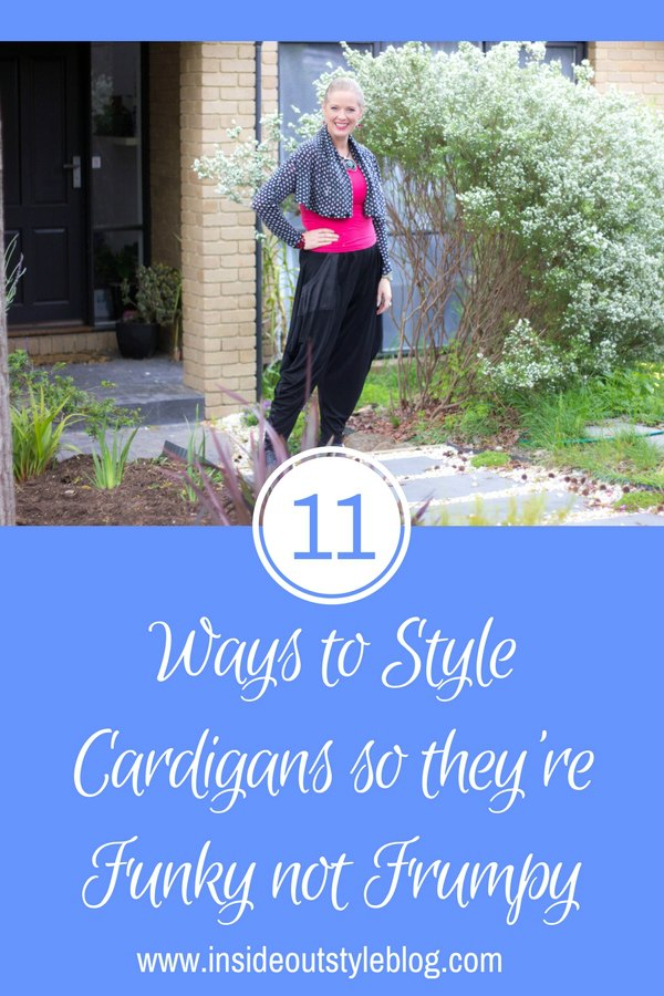 11 Ways to Style Cardigans so they're Funky not Frumpy